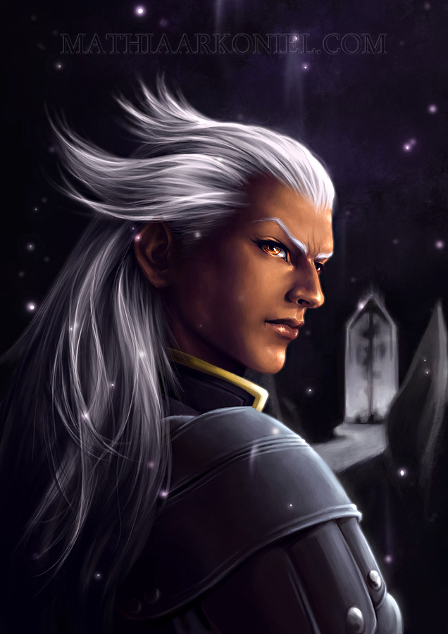 Drawing of Ansem looking beautiful.