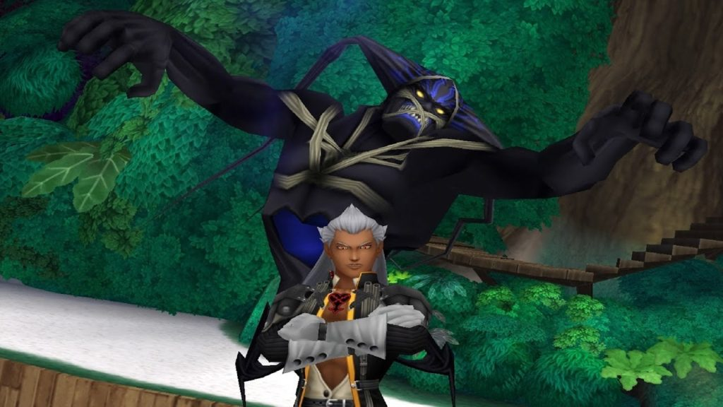 Ansem and Guardian in Kingdom Hearts