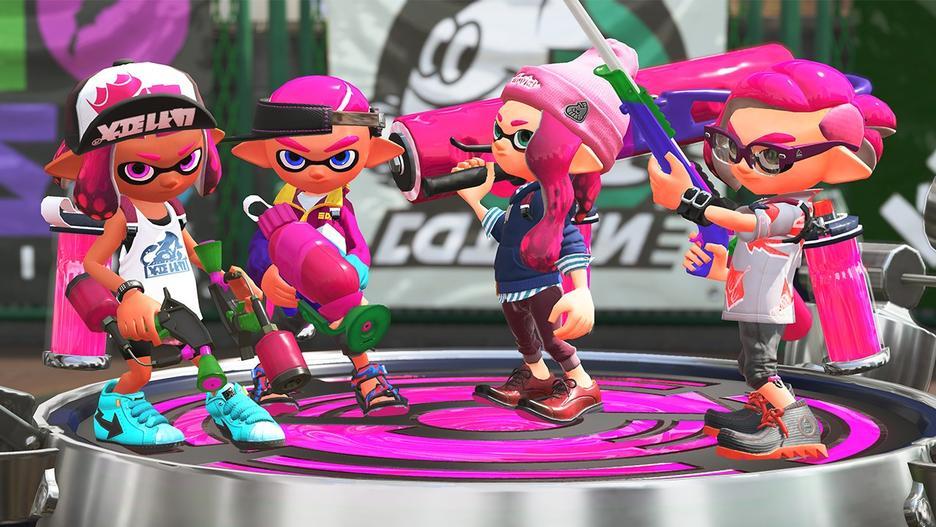 Splatoon 2 squid kids