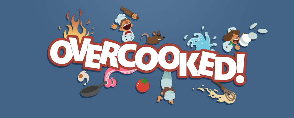 Overcooked, a cooking simulation, discussed on this week's video game podcast