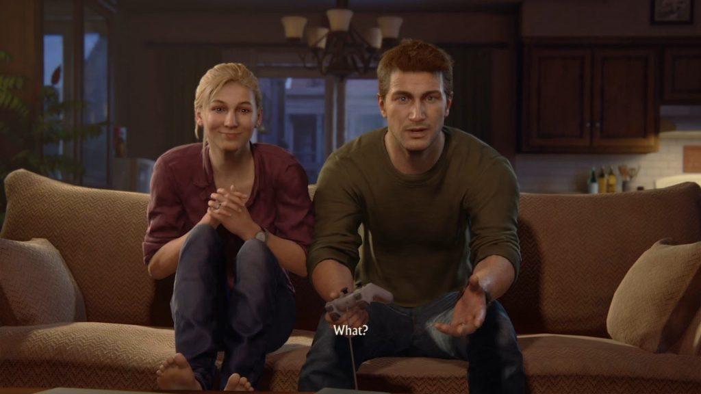 Nathan and Elena Play Crash Bandicoot