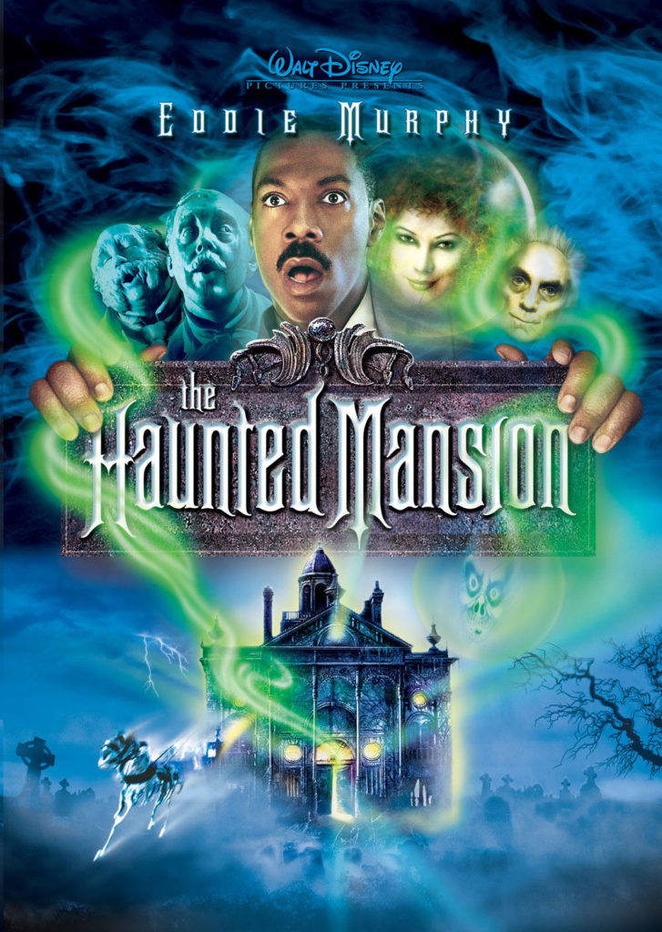 The Haunted Mansion, starring Eddie Murphy. Not featured in KH2
