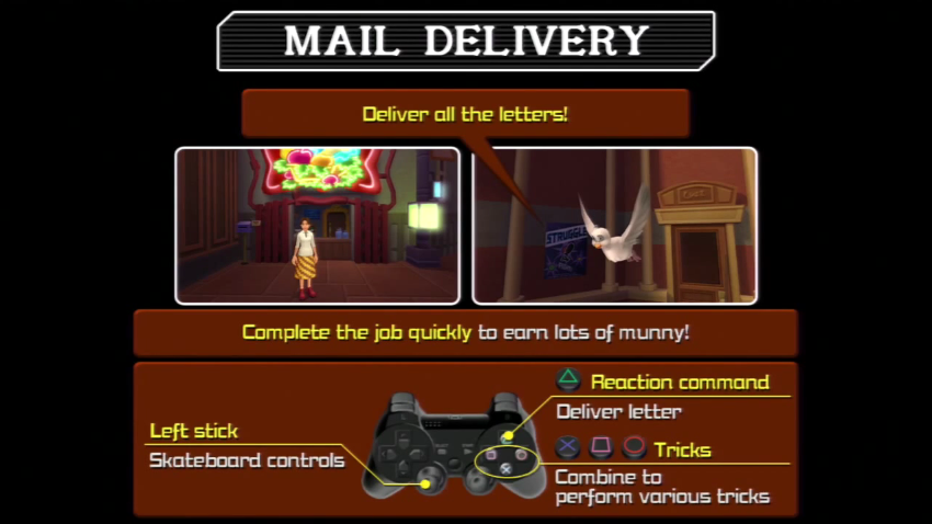 Kingdom Hearts 2 Mail Delivery Instructions