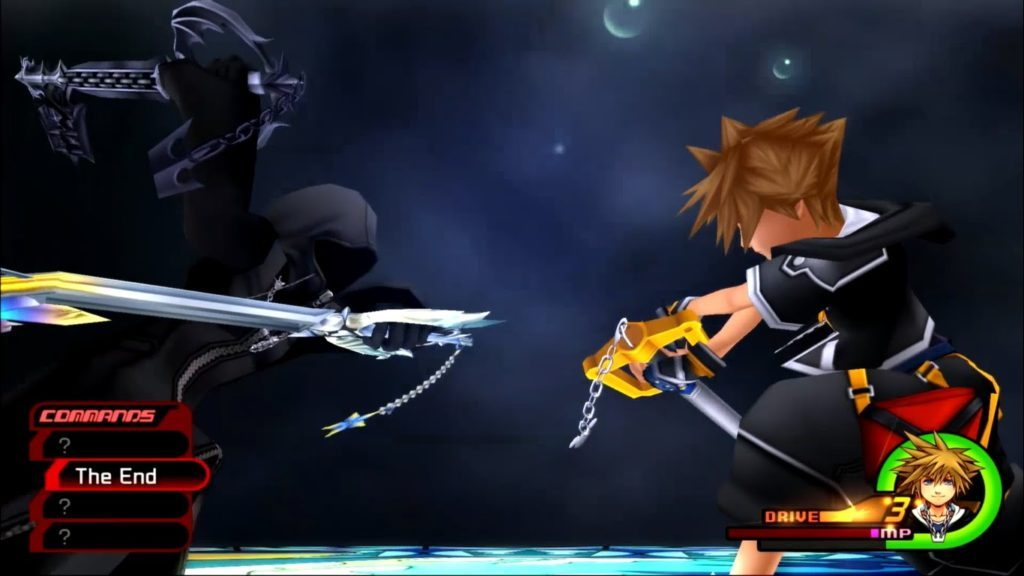 The end Roxas fight.