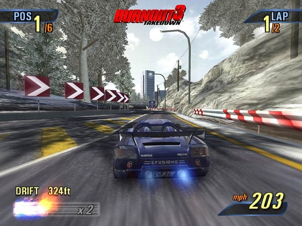 Still from Burnout 3 Takedown