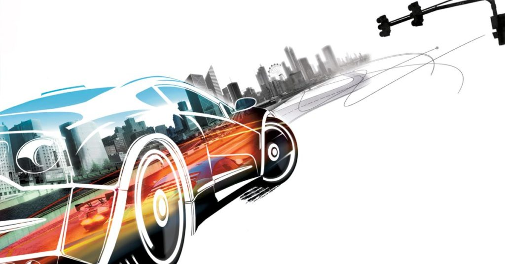 Burnout Paradise, an open-world racing game, discussed in this week's video game podcast
