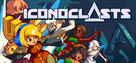 Iconoclasts an action platformer talked about on this week's video game podcast