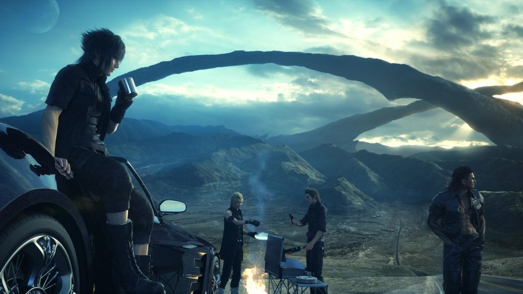 Final Fantasy XV as talked about on Talk This Podcast a video game podcast