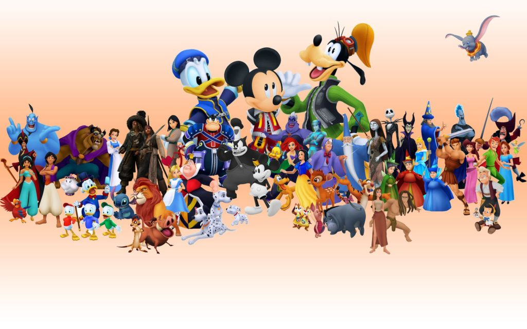 Full Disney Cast of Kingdom Hearts 2