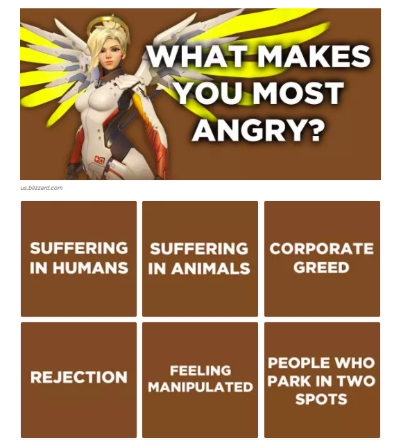 What Makes You Angry? Overwatch