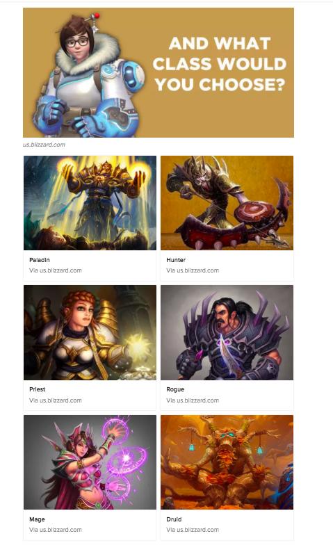 World of Warcraft Class Overwatch