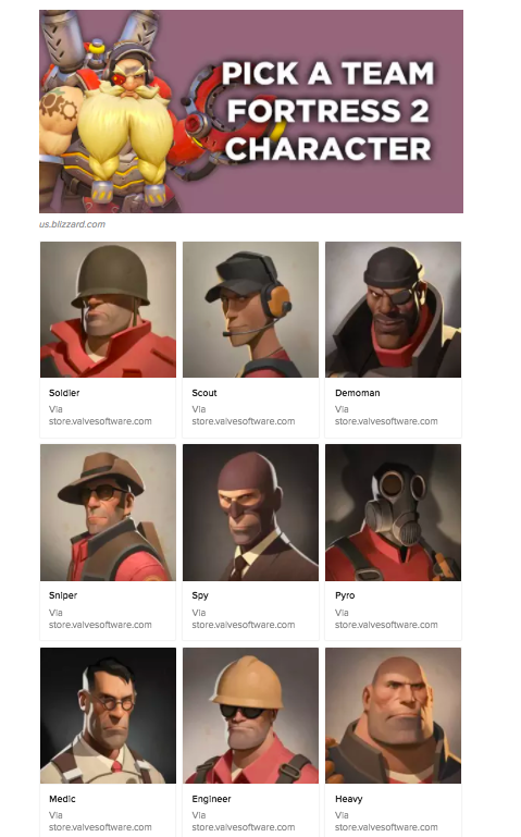 Team Fortress 2 Character