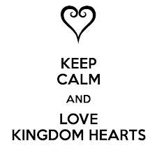 Keep Calm and Love Kingdom Hearts 2 Bumper Sticker