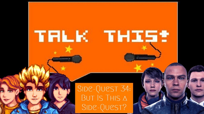 Video game podcast with Detroit Become Human and Stardew Valley
