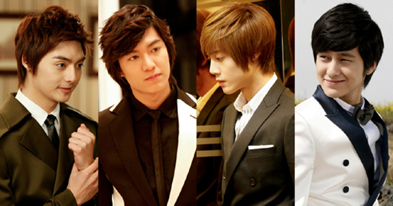 Boys Over Flowers discussion of wigs
