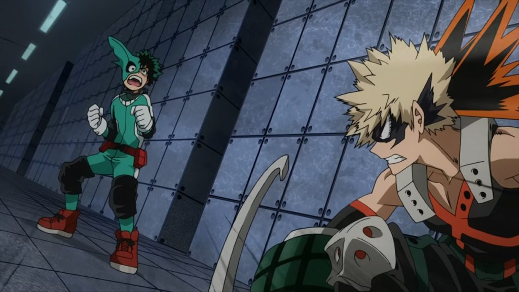 My Hero Academia Rage You Damn Nerd