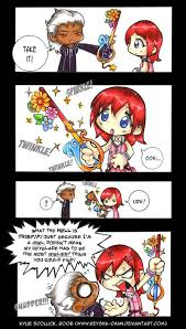 Kairi girly keyblade cartoon sexist