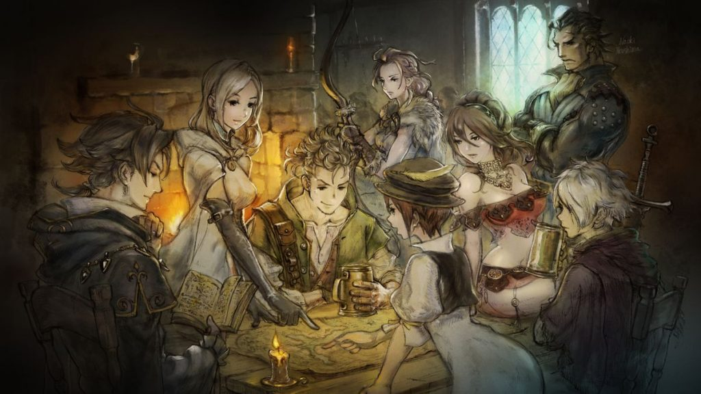 octopath traveler on bonus episode of video game podcast