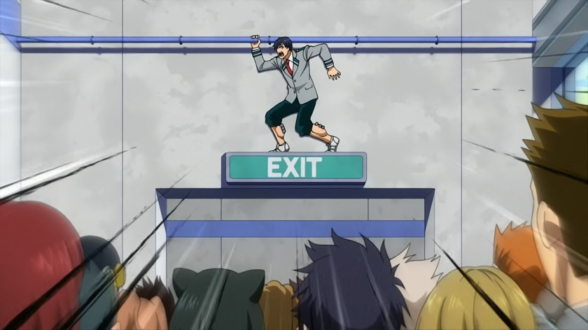My Hero Academia Iida
