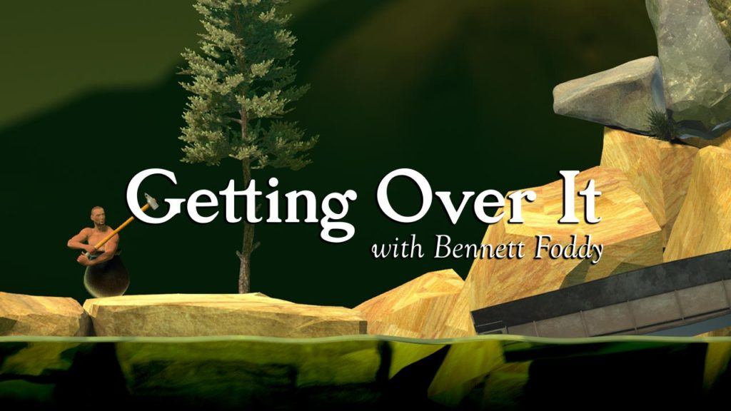 Getting Over It with Bennett Foddy on video game podcast