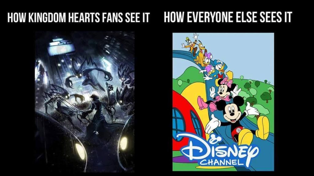 Kingdom hearts fans versus disney fans