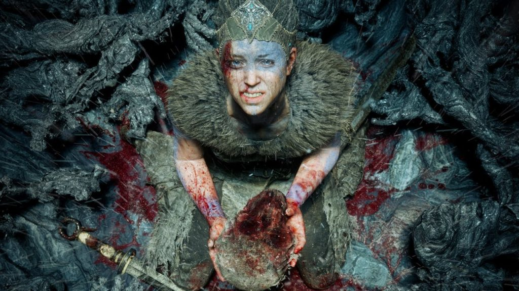 Hellblade: Senua's Sacrifice on the video game podcast