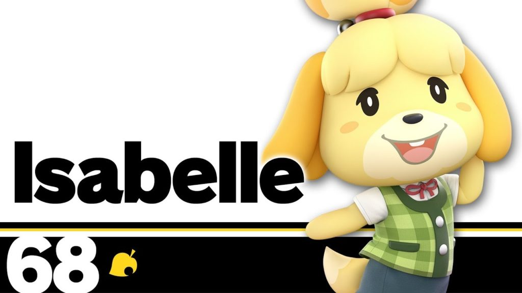 Isabelle in Smash announcement discussed on video game podcast