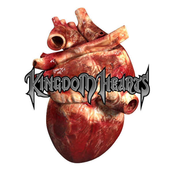 Kingdom hearts real heart logo