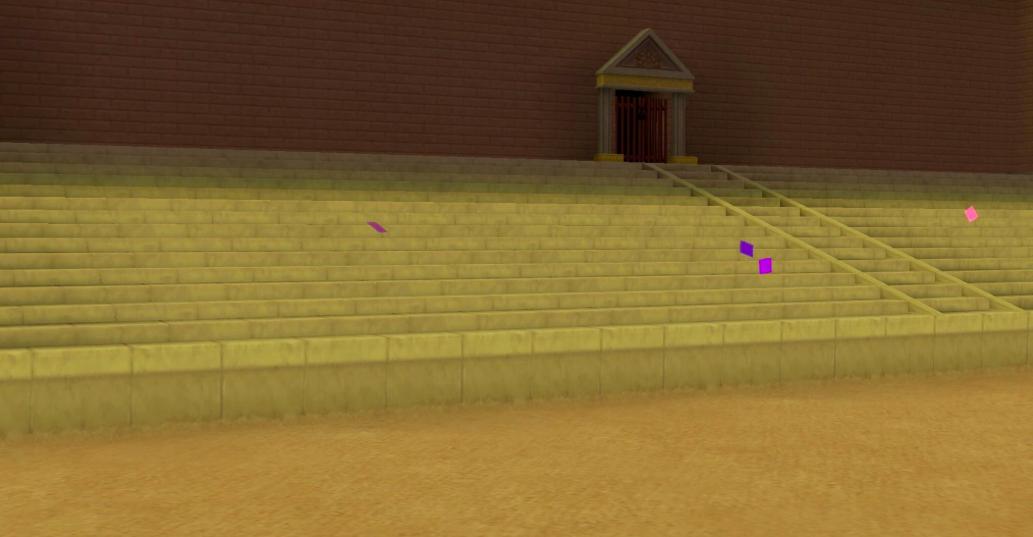 Terra empty Olympus Coliseum cheers