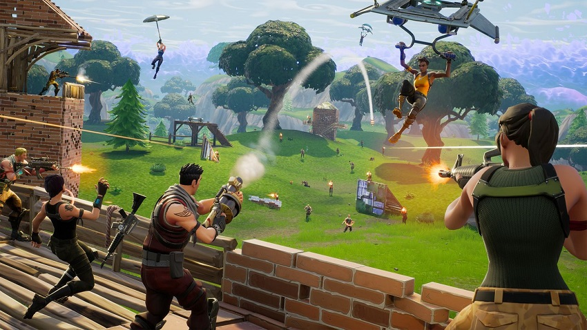 Fortnite Battle Royale discussion on video game podcast