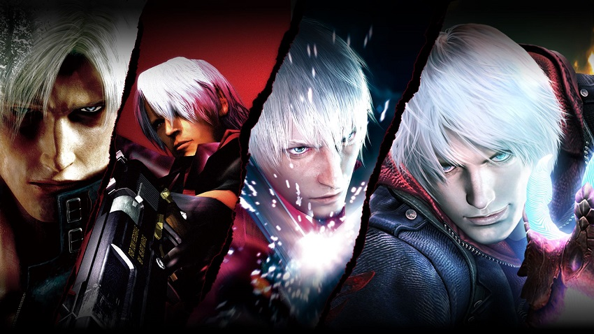 Devil May Cry HD Collection on the video game podcast
