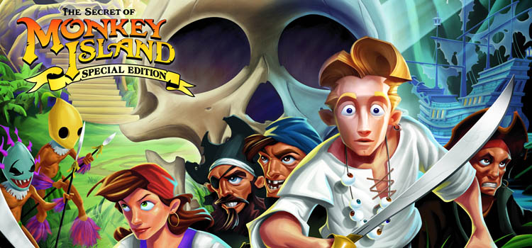 Secret of Monkey Island on video game podcast
