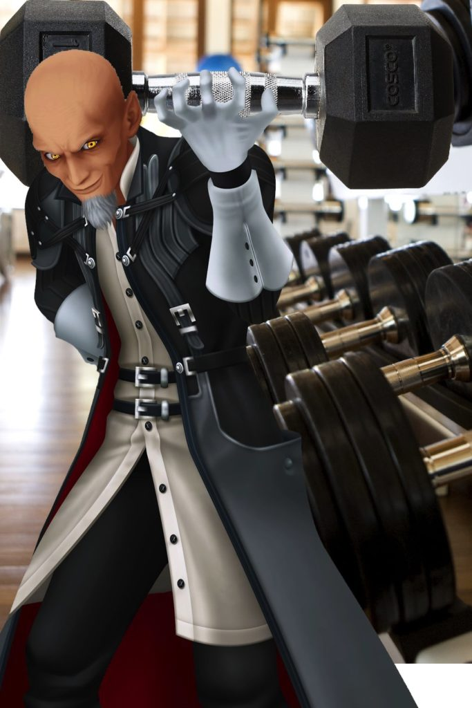 Xehanort at the Gym