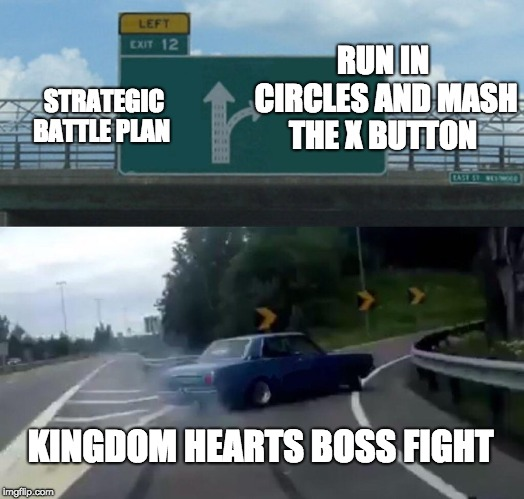 Kingdom Hearts Boss Fight Highway Exit