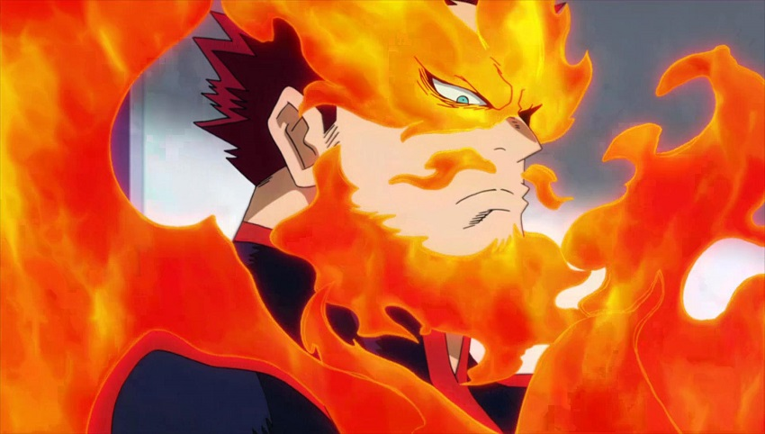 Endeavor in My Hero Academia