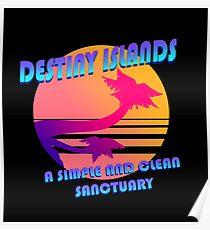 Destiny Islands Vacation Poster