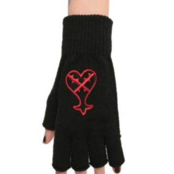 Kingdom Hearts Fingerless Glove
