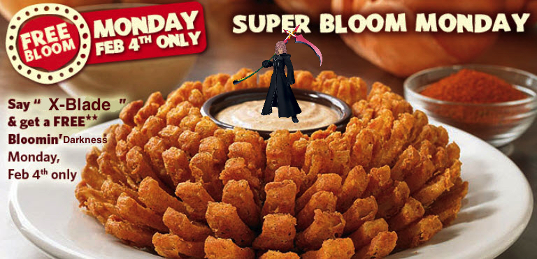 Bloomin' Darkness Marluxia Outback Steakhouse Chain of Memories