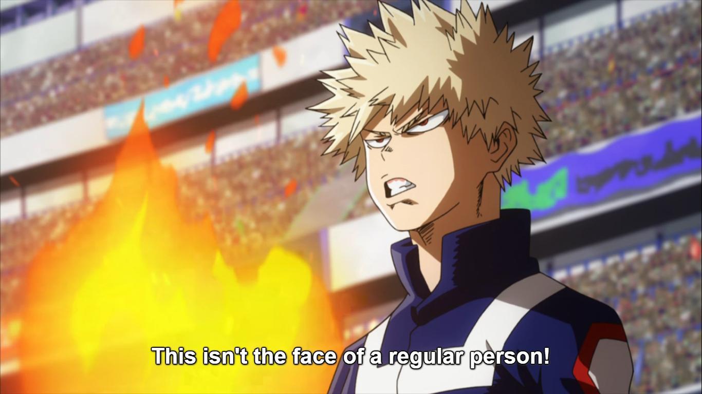 My Hero Academia Bakugo