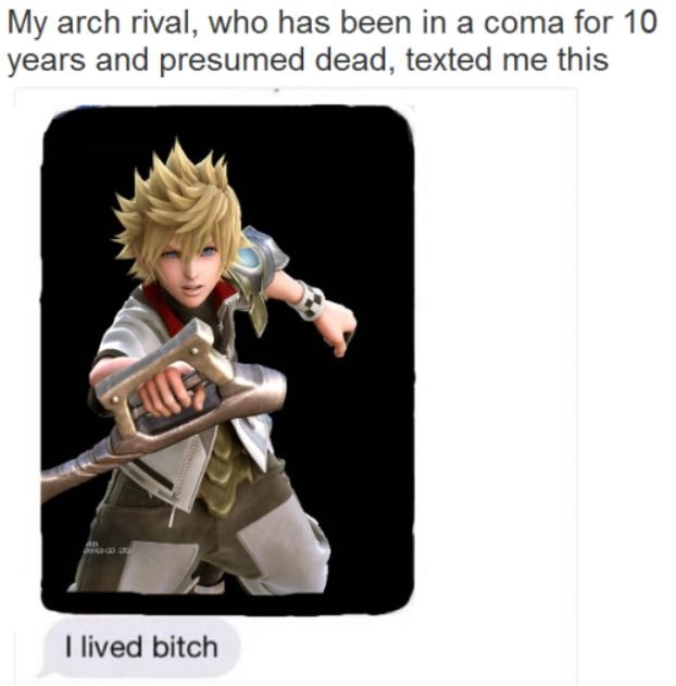 Ventus my arch rival presumed dead I lived