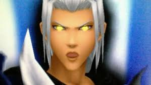 Young Xehanort glowing eyes