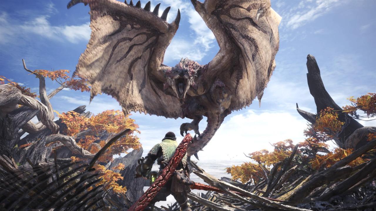 Monster hunter world on video game podcast