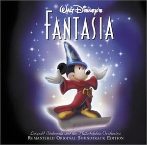 Walt Disney's Fantasia Cover