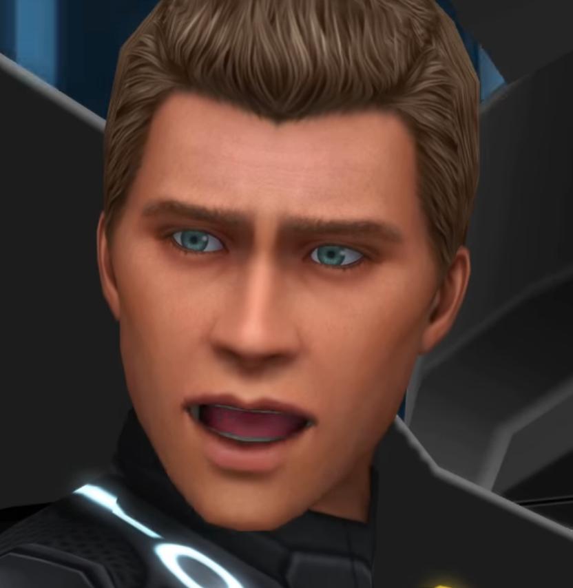 Sam mouth wide open Tron Legacy Dream Drop Distance