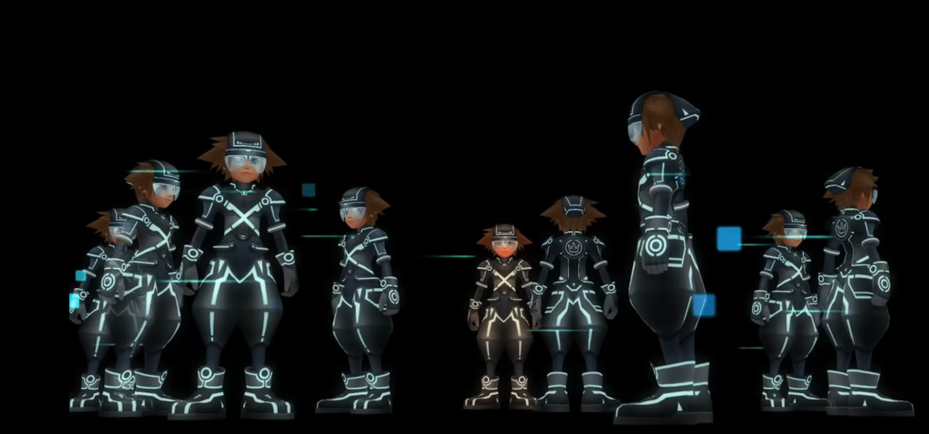 Multiple Soras in Tron world
