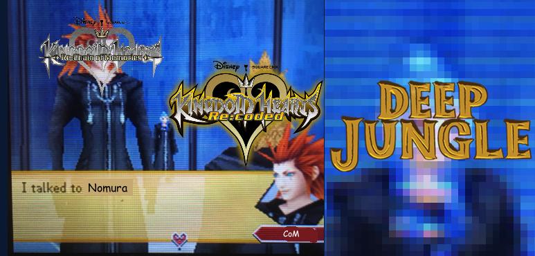 Deep Jungle not in Kingdom Hearts