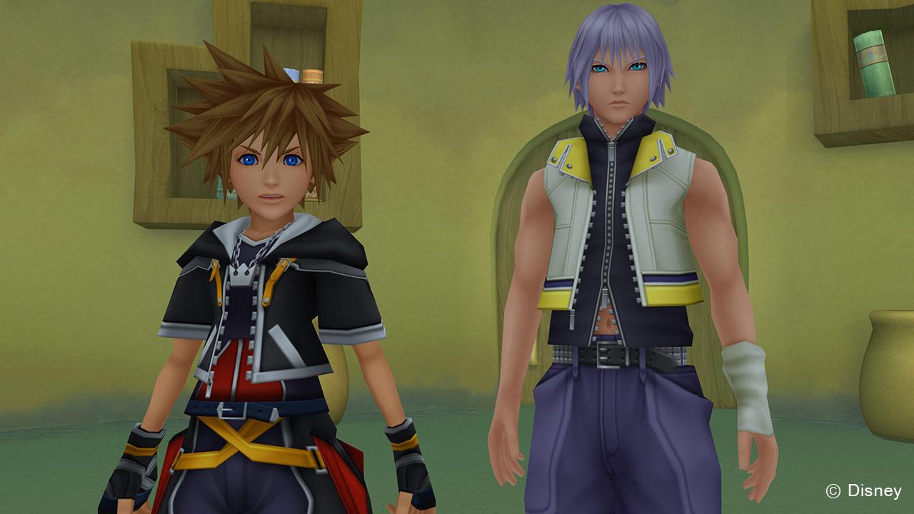 Sora and Riku Dream Drop Distance