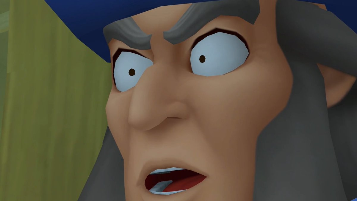 Yen Sid shocked kingdom hearts