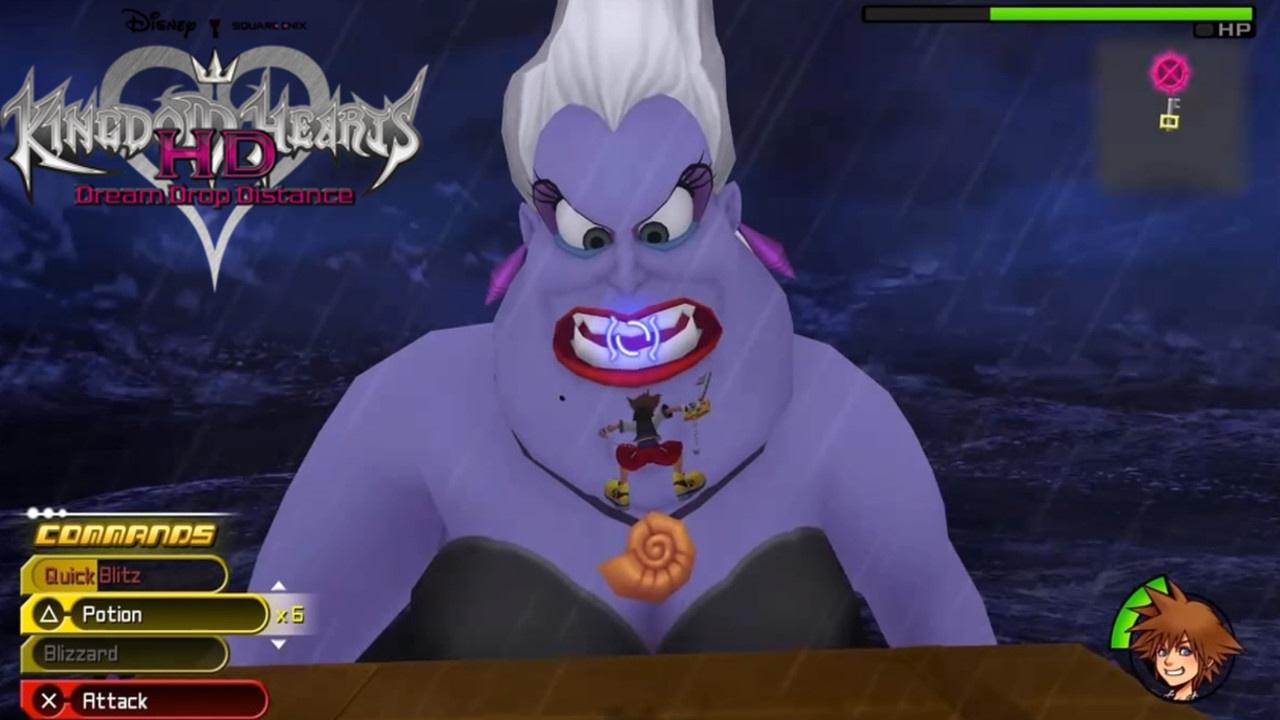 Ursula tutorial boss Dream Drop Distance