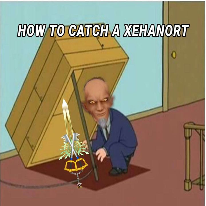 Keyblade Xblade how to catch Xehanort